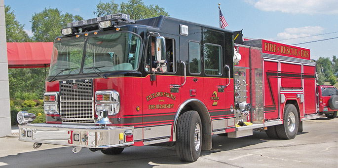 Fire & Rescue Pumper Truck photo